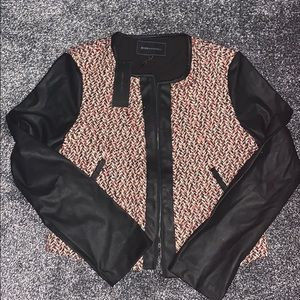 New BCBGMaxazria Tweed Suit Jacket